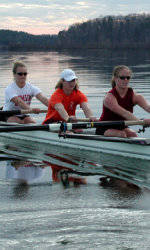 Rowing Takes Four out of Five Events in the Clemson Challenge Saturday