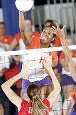 Clemson Sweeps Furman 3-0 in Volleyball Tuesday Night