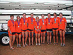 Clemson Rowing Competes In Rivanna Romp