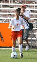 Clemson Women's Soccer Team Wins 2-1 Decision Over Furman in Carolina's Cup Friday
