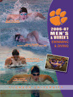 Clemson Swimming & Diving Media Guide Available Online