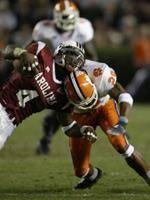 Clemson vs. South Carolina Football Game at 7:00 PM