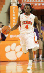 Clemson Men's Basketball to Play Host to ETSU Sunday Afternoon