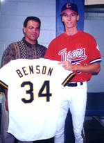 Kris Benson And Billy Koch Were The Media's Center Of Attention In 1996 CWS