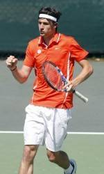 Clemson's Wesley Moran Clinches Match for The Tigers