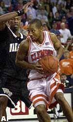 Edward Scott Named MVP of Clemson Team for 2001-02
