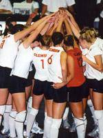 Clemson Volleyball Team To Travel To Orlando For The 2003 ACC Tournament