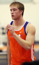 Clemson Men's Track & Field Remains Fourth Heading into Final Day at ACC Championships