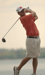 May Fires Second Round 69 to Lead Tigers at Carpet Classic