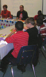 Solid Orange Squad Members Visit Two Elementary Schools January 27-29
