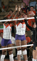 Clemson Volleyball To Face Miami and Florida State On The Road