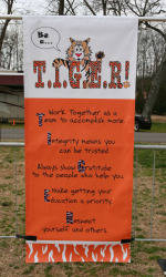 Be a T.I.G.E.R! Field Day Held on March 10