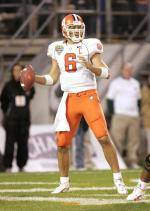 Whitehurst Finishes Fifth in Completion Percentage