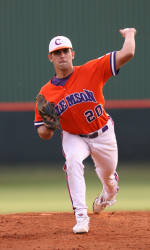 Tiger Baseball Team to Face Coastal Carolina Tuesday and Furman Wednesday at Doug Kingsmore Stadium