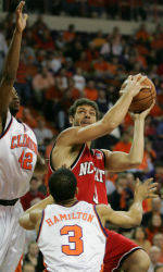 Tigers Take No. 15 Wolfpack To Double Overtime, But Fall 94-85