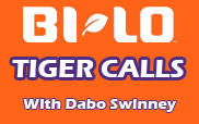 BI-LO Tiger Calls Schedule for 2010 Football Season