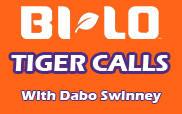 BI-LO Tiger Calls Schedule for 2010 Football Season