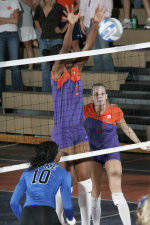 Clemson's Hepburn Selected ACC Volleyball Player of the Week