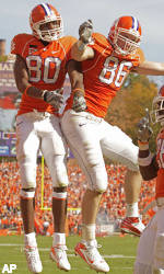 No. 20 Clemson Rolls Past Wake Forest