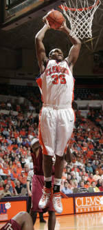 Clemson Men's Basketball Team to Play Host to Maryland on Sunday