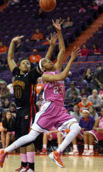 Clemson Drops Contest to No. 8 Maryland in Play4Kay Game