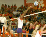 Tiger Volleyball To Face N.C. State And North Carolina On The Road