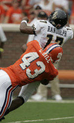 Leroy Hill Named ACC Defensive Player of the Year