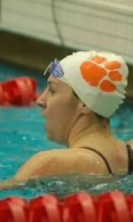 Tigers, Seminoles Split Swimming and Diving Meet Saturday