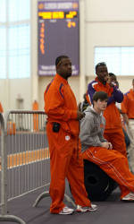 Trio of Sprinters Lead Clemson on Day One of Indoor Track & Field Season