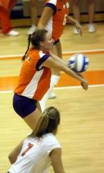 Three Tigers Named To All-ACC Academic Volleyball Team