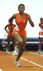 Women's Track Concludes Competition at Carolina Classic