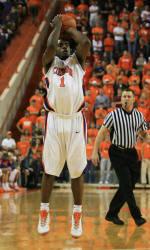 Tiger Men's Basketball Team to Play Host to Presbyterian Friday Night