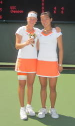 Clemson's Josipa Bek, Keri Wong Head to USTA/ITA Indoor Nationals