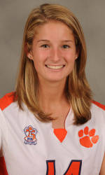Clemson Freshman Natalie Patzin Named ACC All-Academic