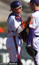 Clemson Baseball Team to Play Host to North Carolina This Weekend