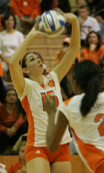 Clemson Volleyball Drops Regular Season Finale to Yellow Jackets, 3-2