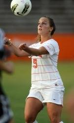 Clemson Women's Soccer Team Defeats Presbyterian College 8-0 on the Road Sunday