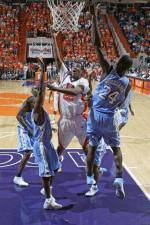 Basketball Travels to Chapel Hill to Face Tar Heels