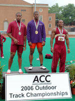 Travis Padgett Named ACC Outdoor Freshman of the Year