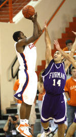 22nd-Ranked Tiger Men's Basketball Team to Face Presbyterian Wednesday