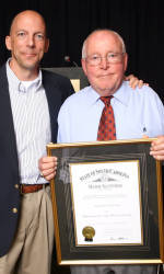 Fred Hoover  Presented Order of the Palmetto