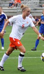 Clemson Women's Soccer Team Defeats Presbyterian 3-0 Wednesday Night