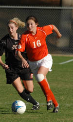 Lady Tiger Soccer Team to Face Davidson in Exhibition Match Tuesday