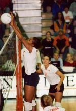 Duke Downs Clemson Volleyball