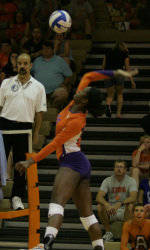 Sandra Adeleye Named to Volleyball All-ACC Team