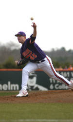 Solid Pitching Lifts Clemson to 2-1 Win Over Elon Wednesday