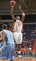 Clemson Falls To No. 4 Wake Forest , 103-68