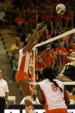 Clemson Volleyball Sweeps Wake Forest On Friday At Jervey Gym