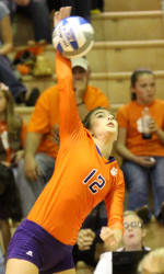 Tiger Volleyball Opens Spring with 3-1 Win at Furman