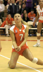 Kelsey Murphy Leads Tiger Volleyball Past Western Illinois, 3-0